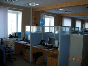Мобильные перегородки для офиса - фото